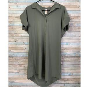 Lucy Forest Green Athletic Dress Small